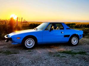 1976 Fiat X1/9 mid engine targa bertone x19