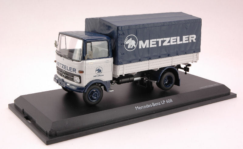 MERCEDES-BENZ LP 608 METZELER camion 1965 1  43 MODEL 3529 schuco  prix de gros