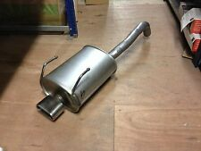 Fiat 500 1.2 8V Rear Silencer Exhaust With OE Style L-box Stainless Tailpipe 08-