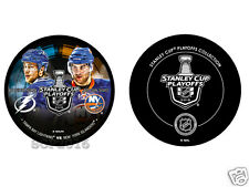 2016 Stanley Cup Playoffs Round 2 Dueling Puck Victor Hedman vs John Tavares
