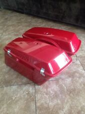 harley police hard saddlebags touring 96+ electraglide firefighter roadking flht