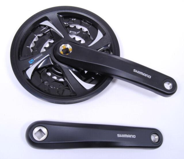 Shimano 7-Speed Mountain Bike Crankset FC-TX801, 175mm 42-32-22