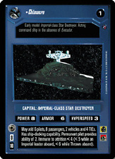Chimaera (Thrawn's ship) [Near Mint/Mint] DEATH STAR II star wars ccg swccg