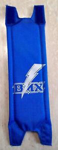 Vintage BMX Old School  STEM PAD  Blue  Double clamp style NOS