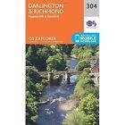 Darlington and Richmond by Ordnance Survey (Sheet map, folded, 2015)