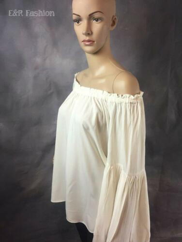 Size Sleeve Bell b23 Ann Off Taylor Top Shoulder Loft The Large gqCUw61x