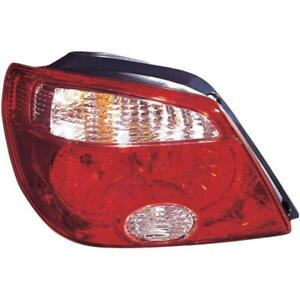 Left-Tail-Light-MITSUBISHI-OUTLANDER-I-CU-manufactured-02-03-12-06-Rear-Light-4OD