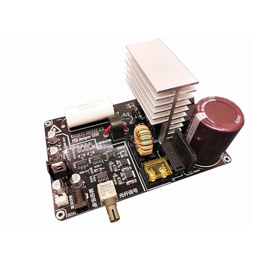 al precio mas bajo Nueva Tarjeta de Controladores integrados drsstc música música música resonante transistor de doble bobina de Tesla  Venta en línea de descuento de fábrica