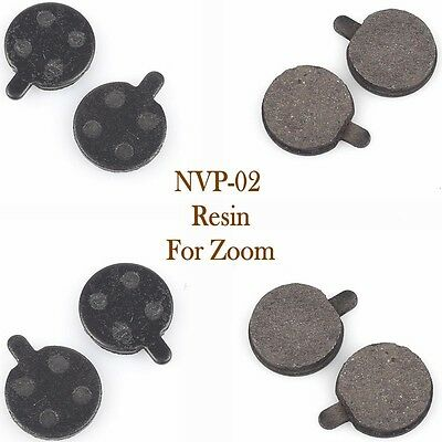 4 Pairs NVP-02 Bicycle Resin Disc Brake Pads for Zoom Replacement Parts 2016 NEW
