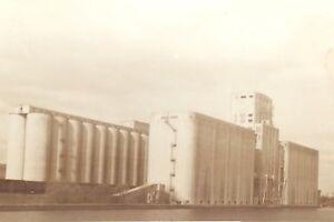 Vintage-Sepia-Searle-Terminal-Grain-Elavator-Manitoba-Unposted-Post-Card-H088