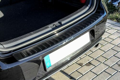 Ford Kuga 2 DM2  Ladekantenschutz Carbon Edelstahl  mit Abkantung Ladeschutz