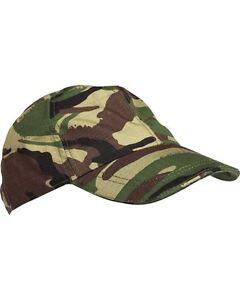 Kids Unisex Camo Camoflague DPM Baseball Cap - Military Fancy Dress - One Size!
