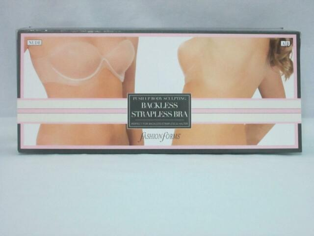 dcc75a8c3b NWT Fashion Forms Body Sculpting Backless Strapless Bra MC535 Nude Size C