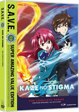 Kaze No Stigma . The Complete Series . All 24 Episodes . Anime . 4 DVD . NEU OVP