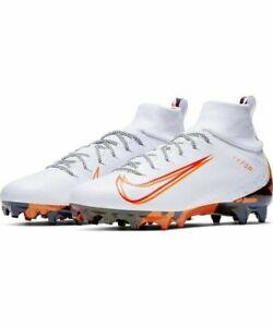 Orange Camo Football Cleat Shoes AV5359