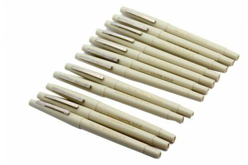 10 x DRAWING PEN FINELINER ULTRA FINE LINE PEN IN BLACK Colour Extra Fine Tip