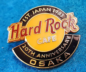 Osaka-Japon-20TH-Aniversario-Hrc-Logo-1983-2003-Hard-Rock-Cafe-Pin