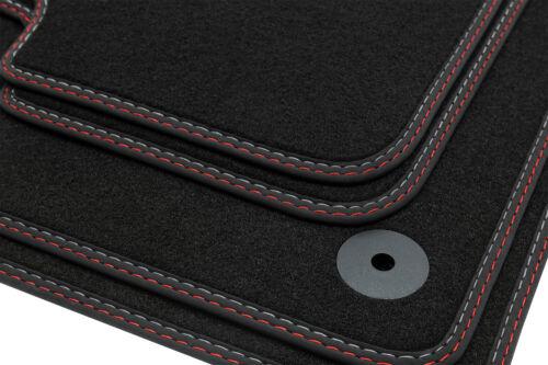Doppelziernaht Fußmatten für Seat Arona 6P Style Xcellence FR ab Bj 2017