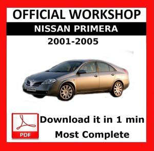 official workshop manual service repair nissan primera 2001 2005 rh ebay ie www Nissan Primera 2000 Model Nissan Primera Wagon