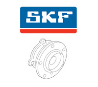 Bmw 320i 328i 428i Xdrive 13-16 Front Left Or Right Wheel Hub With Bearing Skf