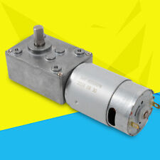 510rpm Reducer Electric Gear Motor Low Speed Worm For Copier Barbecue Rack Us