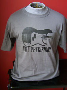 """got Precision"" Bass Guitar T-shirt Size S - Xl Rvaxy0ue-07182638-243604275"