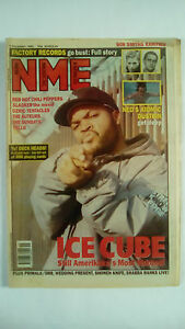 NME Magazine 5th December 1992 ICE CUBE Red Hot Chilli Peppers Ozric Tentacles - Dover, United Kingdom - NME Magazine 5th December 1992 ICE CUBE Red Hot Chilli Peppers Ozric Tentacles - Dover, United Kingdom