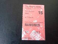 The Ramones ticket Mayfair Suite Newcastle 15/05/86