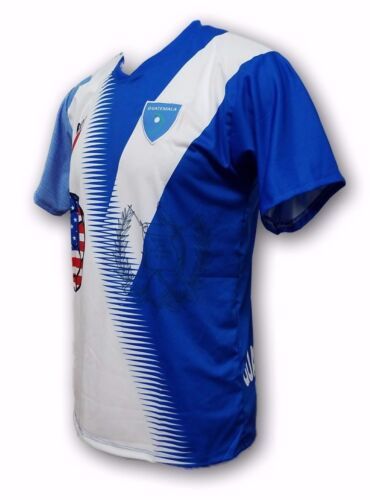 Guatemala Men/'s Soccer Jersey Exclusive Design 100/% Polyester