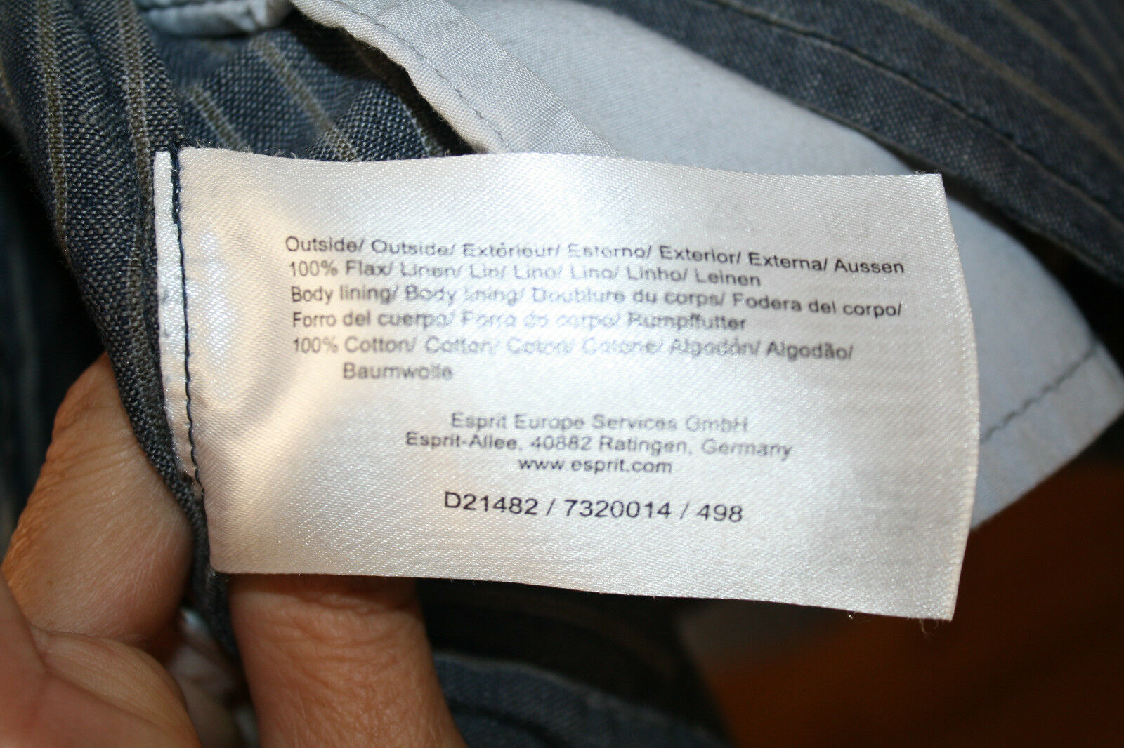 ESPRIT Buisness LeinenBlazer Gr.36 MARINE MARINE MARINE Jeans JLO Style NEU NP 99,95 e | Gewinnen Sie das Lob der Kunden  | Neuheit  | Stabile Qualität  6fa98f