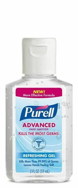 PURELL Advanced Hand Sanitizer Refreshing Gel - 2oz