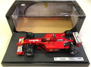 Hot-Wheels-Racing-1-18-Ferrari-F2001-Michael-Schumacher-1-039-MARLBORO-039