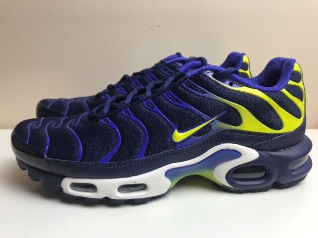 meet 8f065 85483 ... purchase nike air max plus tn mens trainers blue yellow uk 8.5 eur 43  852630 402