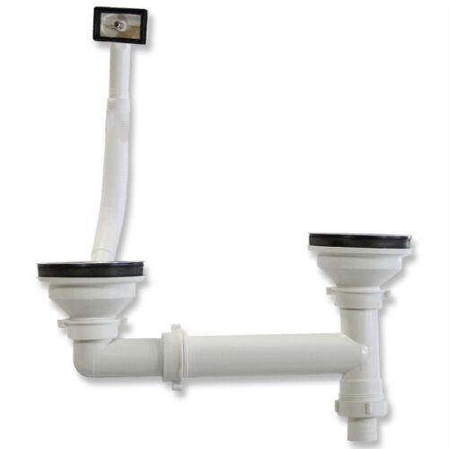 Mischbatterie 1,5-Becken Küchenspüle Spültisch Spüle Spülbecken Wasserhahn