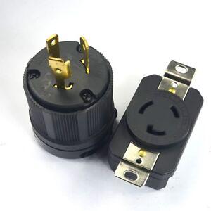 nema l6 20p l6 20r 20a 250v twist lock electrical plug. Black Bedroom Furniture Sets. Home Design Ideas