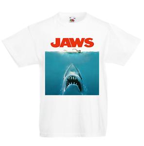 Sloth Claws Jaws Parody Kid/'s T-Shirt Children Boys Girls Unisex Top