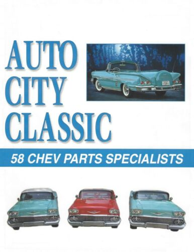 1958 Chevrolet Continental Ring Spring and 58 Chev Parts Catalog