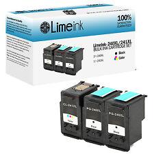 3 pk PG 240XL CL 241XL Ink Cartridge for Canon PIXMA MG MX Printer Series MG2120