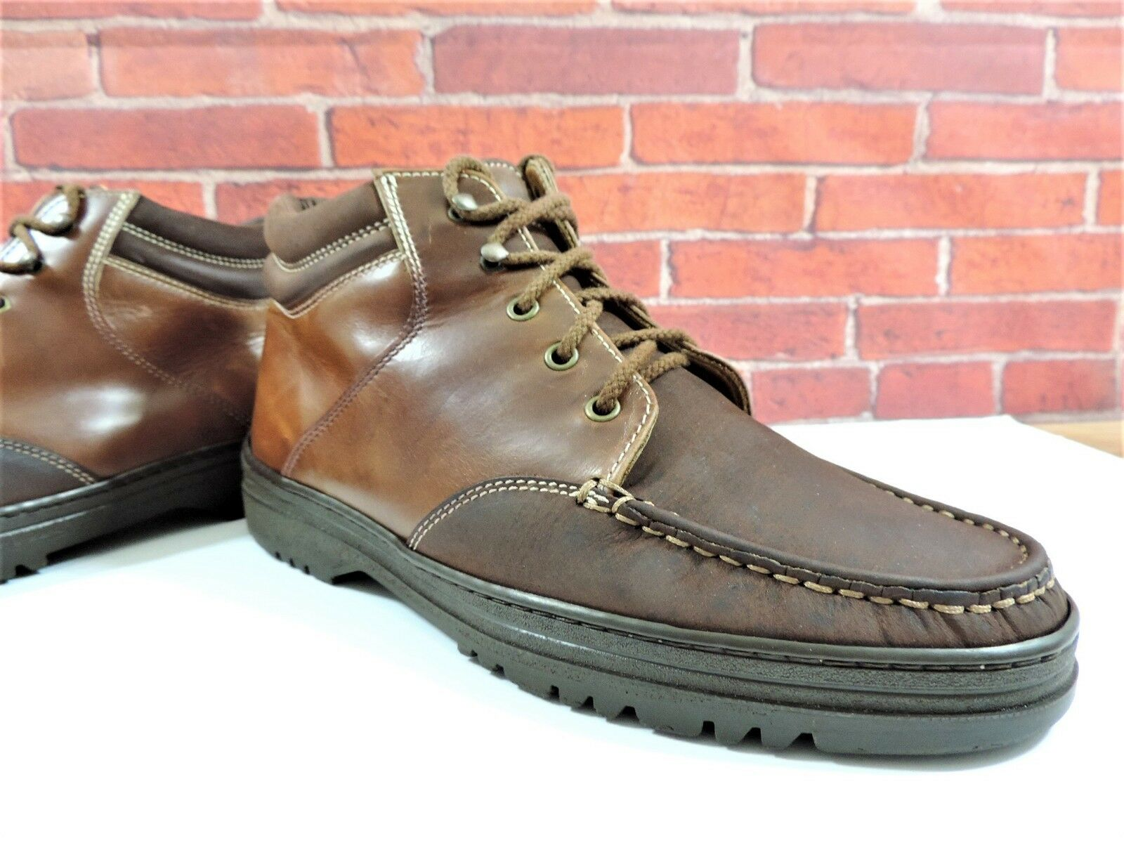 Bally Boots Walking City City City UK 9 US 10  EU 43 Italian Made Tan Nubuck and Leather cae2ee