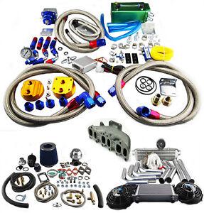 turbo charger kit for vw golf jetta vr6 2 8l t3 t4 ebay. Black Bedroom Furniture Sets. Home Design Ideas