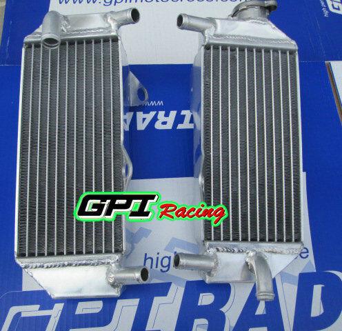 L/&R ALUMINUM Alloy RADIATOR  HONDA CRF250 CRF250R 4-STROKE 2010-2013 2012