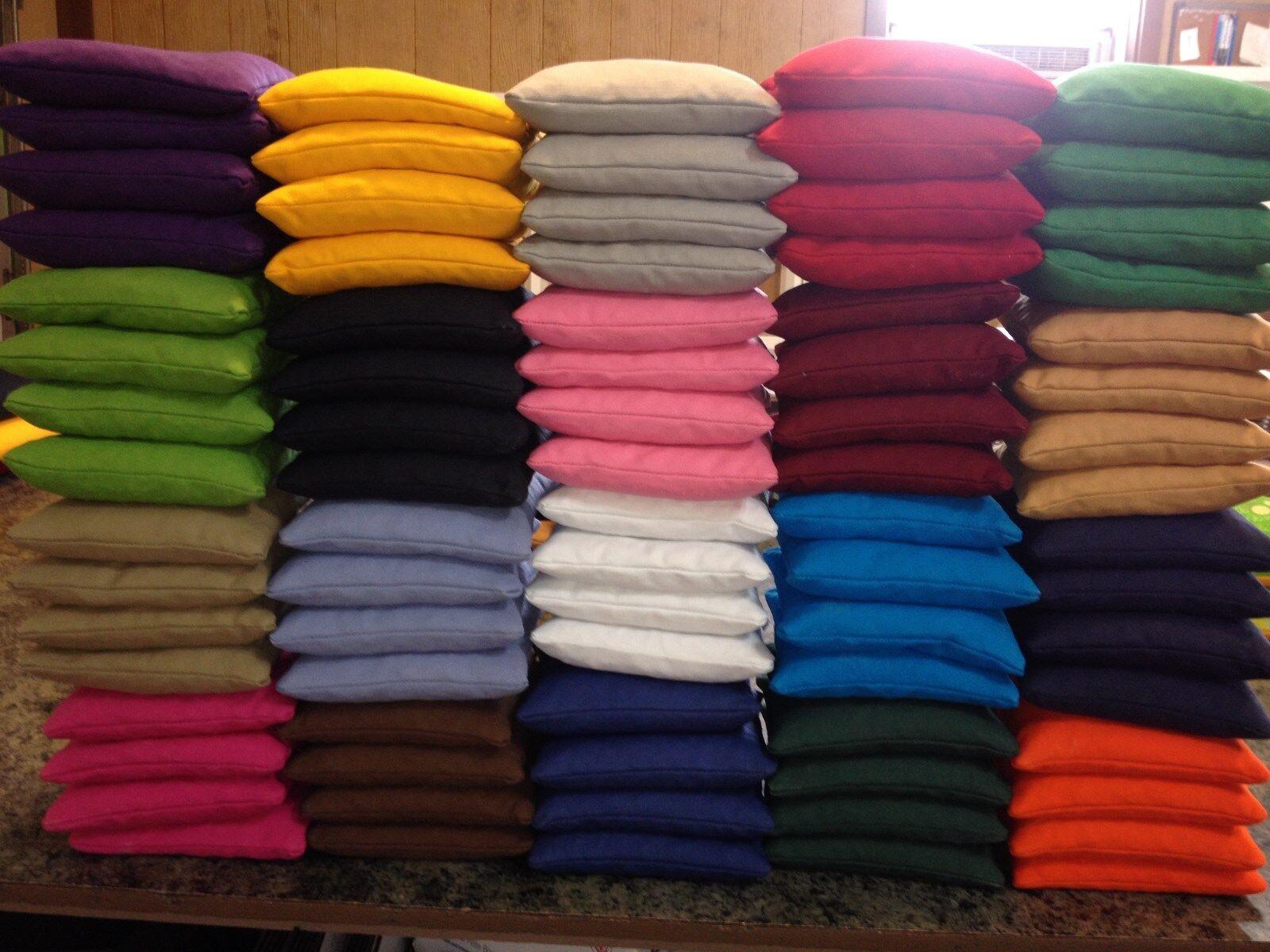 Cornhole Tasches - 6 SETS48 Taschen (12 Farben 4 von jedem)
