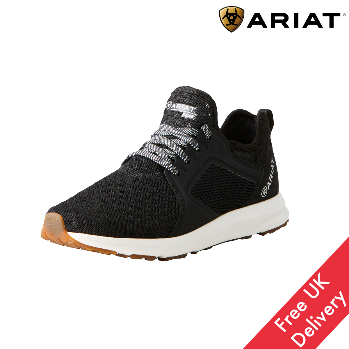 Ariat Fuse Womens Trainers  FREE UK Shipping