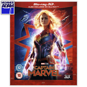 CAPTAIN-MARVEL-Blu-ray-3D-2D-REGION-FREE