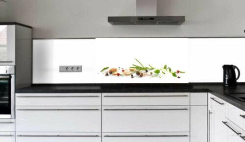 Küchenrückwand Fliesenspiegel Glas Sicherheitsglas Laminat Küche Spritzschutz