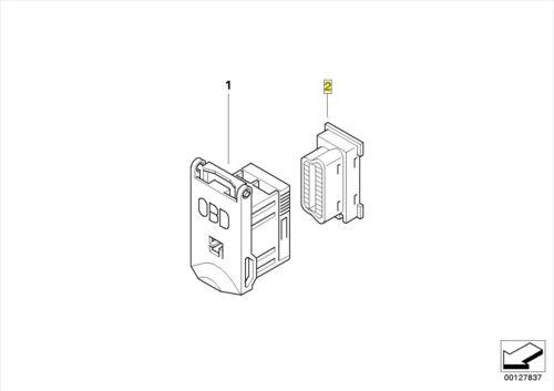 BMW OBD-2 II Diagnostic Plug Socket Connector 8380698 61138380698