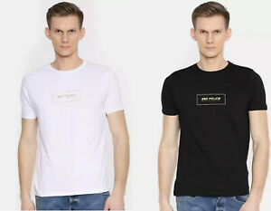 883-Mens-Cadet-Short-Sleeve-T-Shirt-Cotton-Crew-Neck-Graphic-Printed-Casual-Top