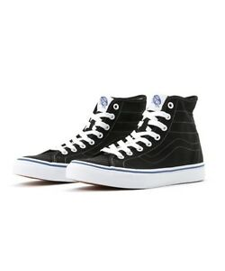 8a23e11ac6 Vans SK8 HI Decon Canvas Black True White New In Box VN00018H1WX
