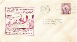 USA-1932-034-U-S-GER-SEA-POST-S-S-MANHATTAN-034-Schiffspost-SST-MAIDEN-VOYAGE