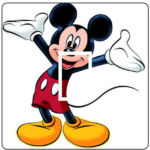 Mickey Mouse - Light switch Sticker / Cover #2 - 69